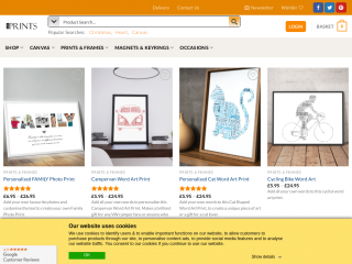 abcprints.co.uk screenshot