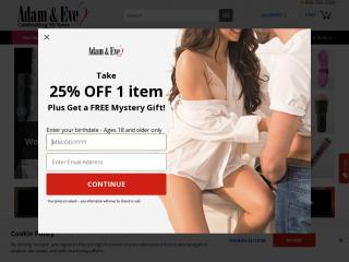 adameve.com screenshot
