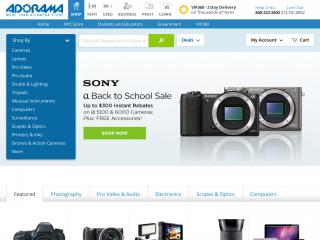 adorama.com screenshot