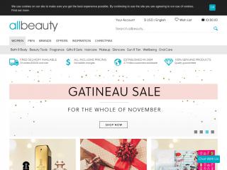 allbeauty.com screenshot