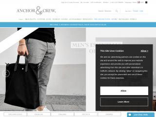 anchorandcrew.com screenshot
