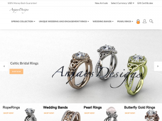anjaysdesigns.com screenshot