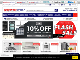 appliancesdirect.co.uk screenshot