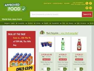 approvedfood.co.uk screenshot