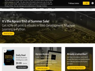 apress.com screenshot