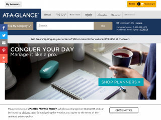 at-a-glance coupon promo code
