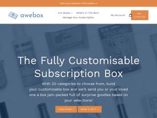 awebox.co.uk screenshot