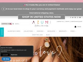 azuni.co.uk screenshot