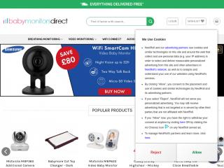 babymonitorsdirect.co.uk screenshot