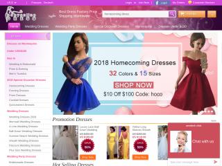 babyonlinedress.com screenshot