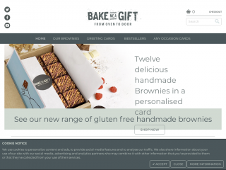 bakemeagift.co.uk screenshot