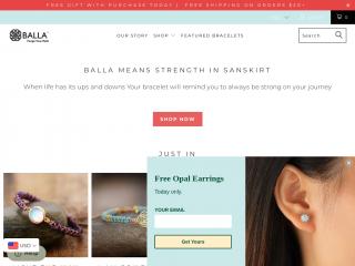 ballabracelets.com