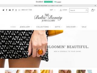 balticbeauty.co.uk screenshot