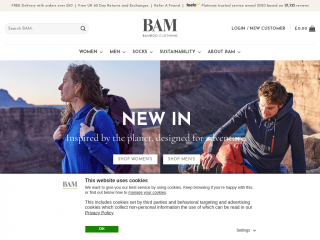 bambooclothing.co.uk screenshot