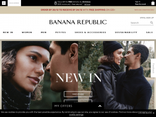 bananarepublic.co.uk screenshot