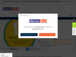 bannerbuzz.co.uk screenshot