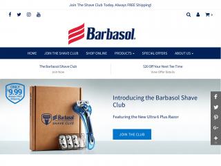 barbasol.com screenshot