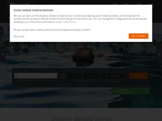 barcelo.com screenshot