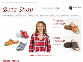 batzshop.co.uk screenshot