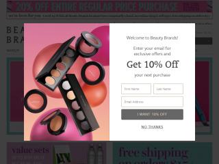 beautybrands.com screenshot