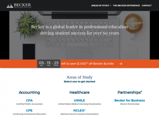 becker.com screenshot