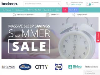 bedman.co.uk screenshot