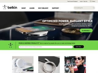belkin.com screenshot