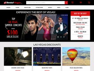 bestofvegas.com screenshot