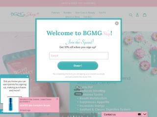 bgmgshop.com screenshot