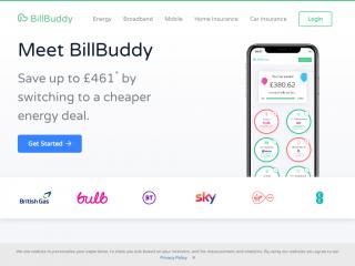 billbuddy.co.uk screenshot