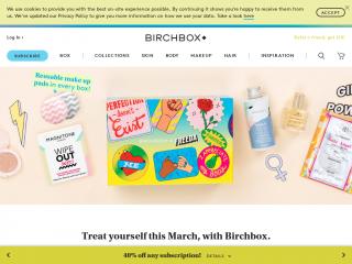birchbox.co.uk screenshot