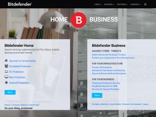 bitdefender.com screenshot