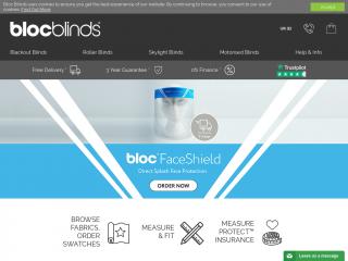 blocblinds.co.uk screenshot