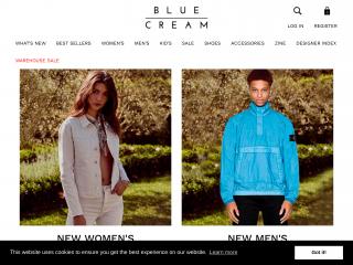 blueandcream.com screenshot