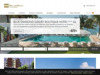 bluebayresorts.com screenshot