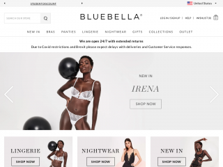 bluebella.us screenshot