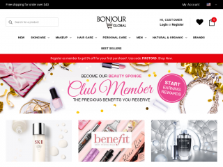 bonjourglobal.com screenshot