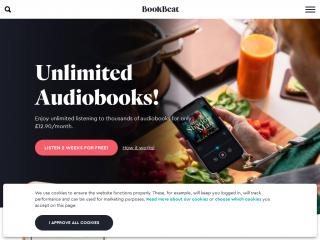 bookbeat.co.uk screenshot