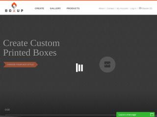 boxup.com screenshot