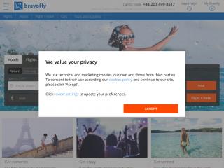 bravofly.com screenshot