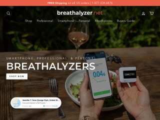 breathalyzer.net screenshot