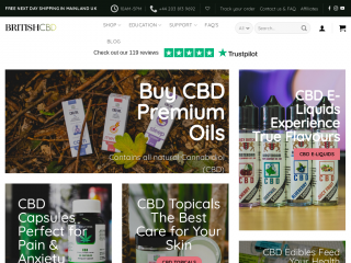 britishcbd.net screenshot