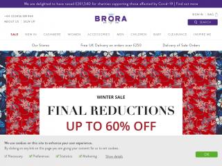 brora.co.uk screenshot