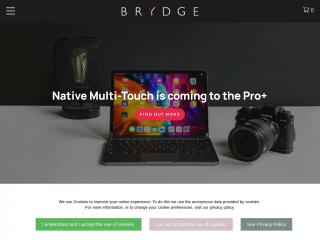 brydge.co.uk screenshot