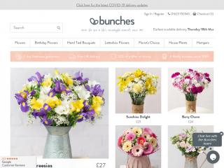 bunches.co.uk screenshot