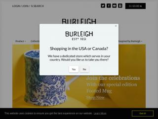 burleigh.co.uk screenshot