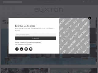 buxton.co screenshot
