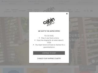 cabinzero.com screenshot