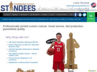 cardboardcutoutstandees.com