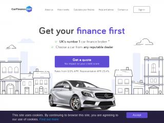 carfinance247.co.uk screenshot